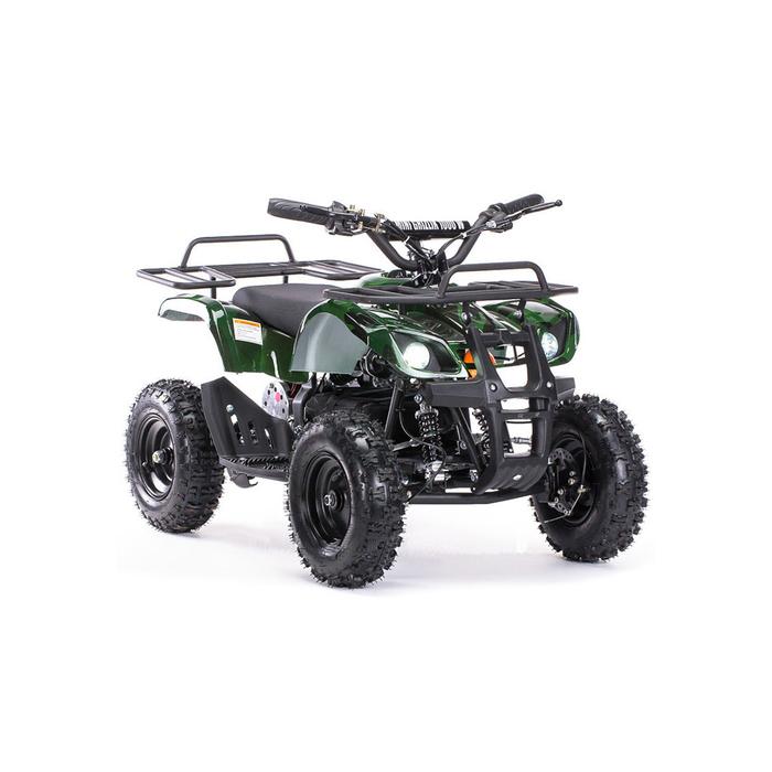 Детский электро квадроцикл MOTAX ATV Х-16 1000W BIGWHEEL (большие колеса), зеленый камуфляж