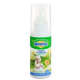 Молочко-спрей Mosquitall «Нежная защита для детей. Для прогулок» от комаров 50 мл