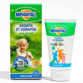 Крем Mosquitall Нежная защита для детей от комаров 40 мл