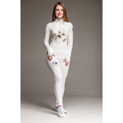 Комплект женский термо (джемпер, лосины) «Нерпа» М-290/1-18, цвет белый, р-р 50