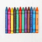 Восковые карандаши, набор 6 шт, цвета МИКС