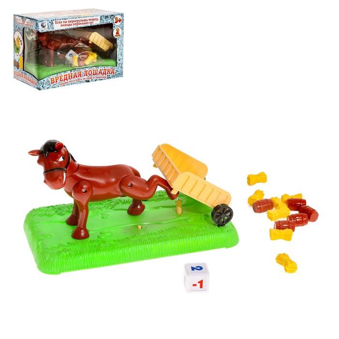 Настольная игра на везение «Вредная лошадка»