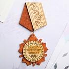 Магнит - медаль «Самому умелому повару», 11×5 см