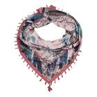 Платок женский FC822_34-6 цвет розовый, р-р 110x110