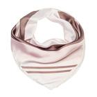 Платок женский SF160_R87 цвет розовый, р-р 70x70