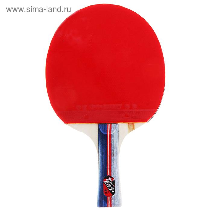 Ракетка для настольного тенниса, любительская, 11 мм, 235 гр, в чехле