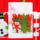 Набор для создания игрушки из фетра «Снеговик» - фото 101289