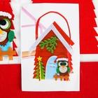 """Набор для создания сумочки из фетра """"Новогодняя сова"""""""