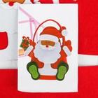 "Набор для создания сумочки из фетра ""Дед мороз"""