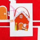 """Набор для создания сумочки из фетра """"Дед мороз стучится в дверь"""""""