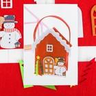 """Набор для создания сумочки из фетра """"Снеговик"""""""