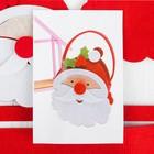 """Набор для создания сумочки из фетра """"Дед мороз красный нос"""""""