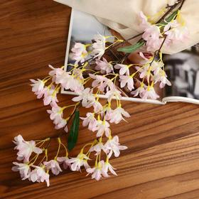 Artificial flowers acacia 4*90 cm, white-pink