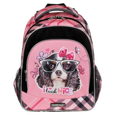 Рюкзак школьный эргономичная спинка 37х27х15см Erich Krause ErgoLine Clever Dog