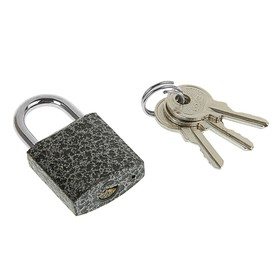 "Замок навесной ""Фабрика Замков"" 303F-25, d=3.8 мм, 3 ключа .картонная коробка"