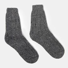 Носки мужские теплые, цвет МИКС, размер 25 Ош