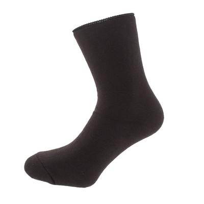 Носки мужские шерстяные махровые, цвет МИКС, размер 25