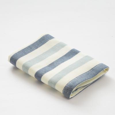 """Towel double-sided """"Ethel"""" Stripe wheel drive.blue 35x35 cm, 380 g/m2, 100% cotton"""