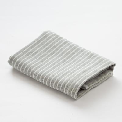 "Towel double-sided ""Ethel"" Amelia gray 35x35 cm, 380 g/m2, 100% cotton"