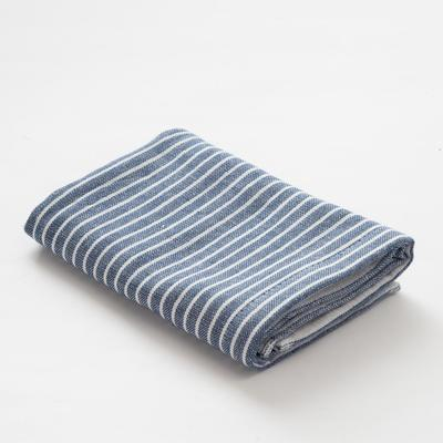 """Towel double-sided """"Ethel"""" Amelia blue 35x35 cm, 380 g/m2, 100% cotton"""