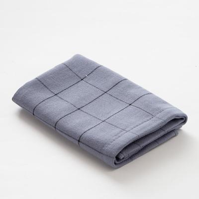 """Towel double-sided """"Ethel"""" Mars blue 35x35 cm, 380 g/m2, 100% cotton"""