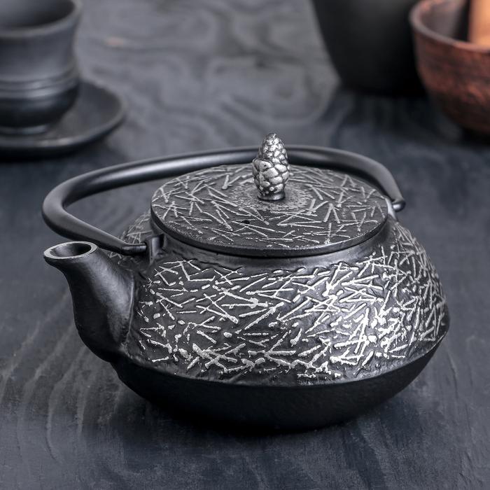 Чайник с ситом 600 мл «Хрома»