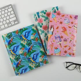 """Набор обложек для книг """"Яркая жизнь"""", (3шт), 43,5 х 23,2 см"""