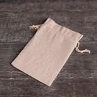 """Мешочек """"Эко"""" универсальный, верёвка белая, 10х16 см"""