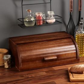 """Хлебница деревянная """"Кантри"""", 45 см, массив бука"""