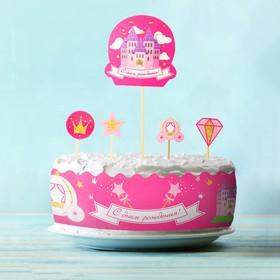 Набор для украшения торта «Принцесса»