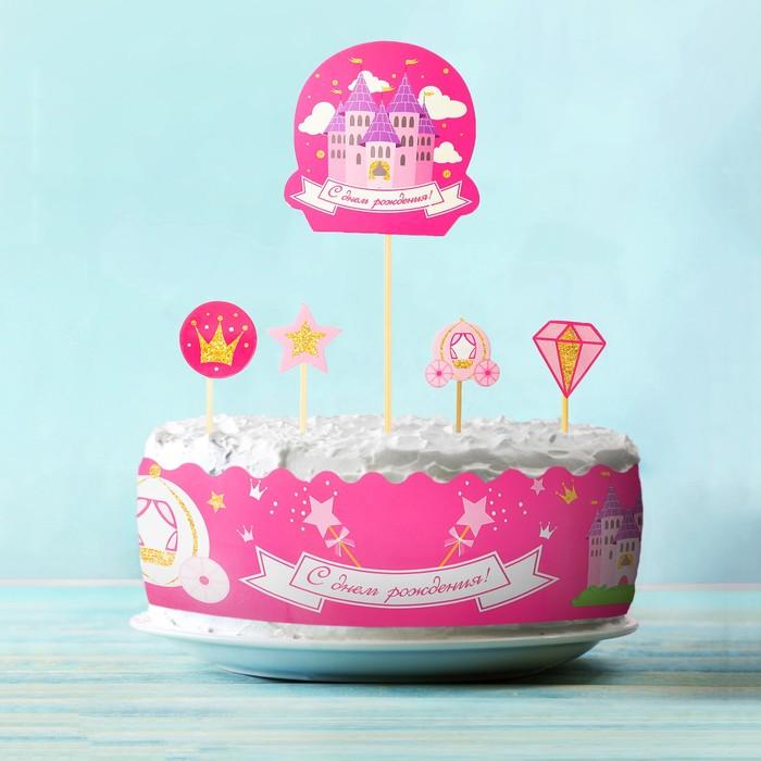 Набор для украшения торта «Принцесса» - фото 1545618