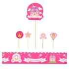 Набор для украшения торта «Принцесса» - фото 1545619