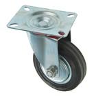 Колесо для транспортных тележек, d=100 мм, на площадке