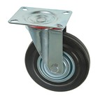 Колесо для транспортных тележек, d=125 мм, на площадке