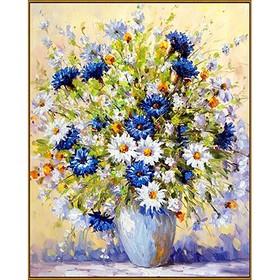 Алмазная мозаика «Летний букет», 40 × 50 см, 39 цветов
