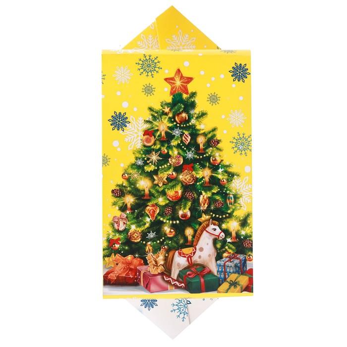 Сборная коробка‒конфета «Яркого праздника», 14 × 22 × 8 см