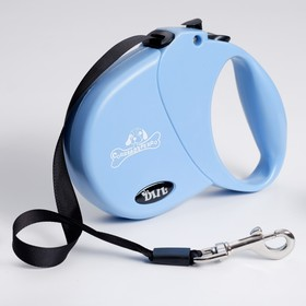 Рулетка DIIL, 4 м, до 20 кг, лента, голубая