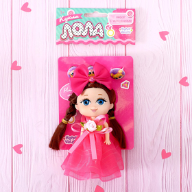 Кукла малышка «Лола» с набором украшений, МИКС