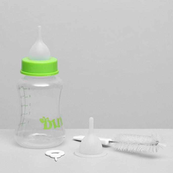 Набор для вскармливания DIIL, бутылочка 150 мл, с 2 сосками и ершиком