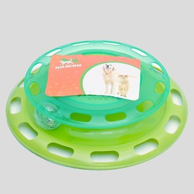 Play set for cats Dude with compartments for food and a ball
