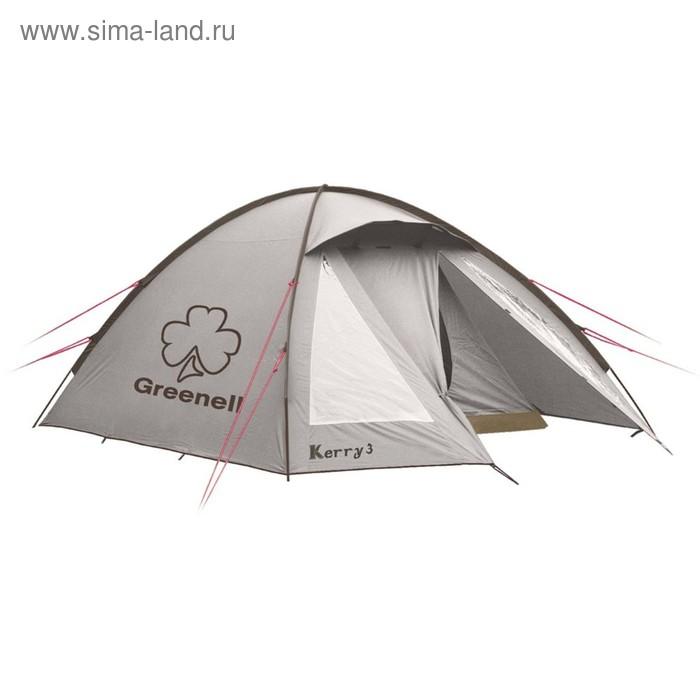 Палатка «Керри 4 V3», цвет коричневый