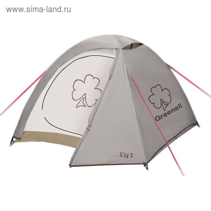 Палатка «Эльф 3 V3», цвет коричневый