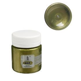 Воск для патинирования 40 мл LUXART LuxWax золото зелёное