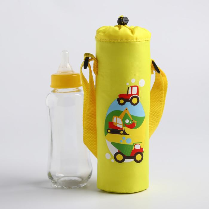 Термосумка «Транспорт» для бутылочки 250 мл