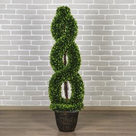 """Дерево искусственное """"Завиток"""" крупный лист 150 см"""