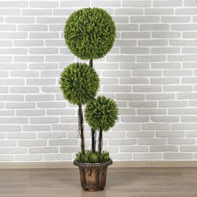"""Дерево искусственное """"Три шара"""" мелкий лист 150 см"""