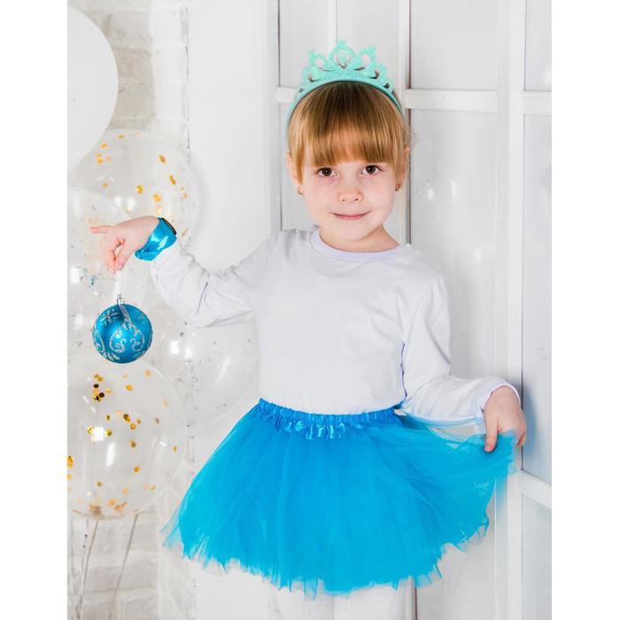 """Карнавальный костюм """"Герда"""", юбка, браслет, ободок, 3-5 лет"""