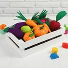 """Игровой набор """"Овощи в ящике"""""""