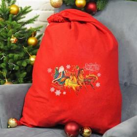 """Мешок Деда Мороза """"Сказочного Нового года"""", 60 х 90 см"""