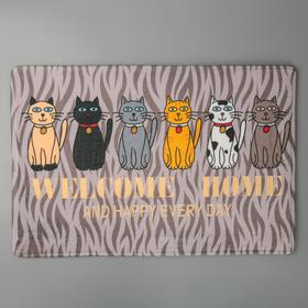 Bath Mat Cats